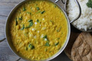 Vegetable Turmeric & Coconut Dahl